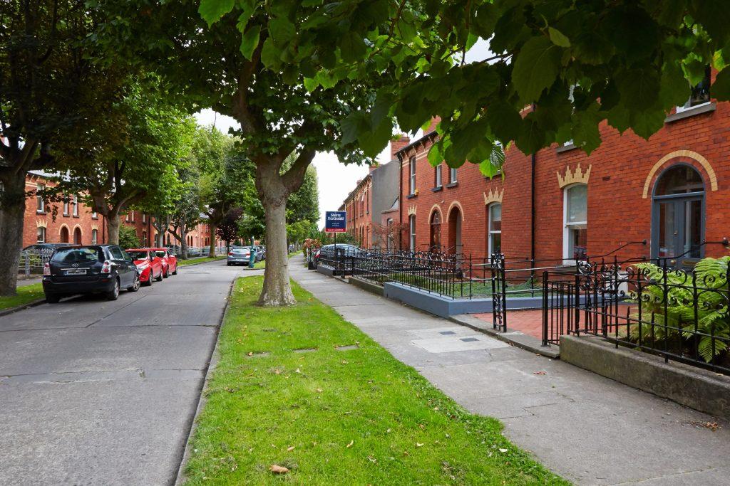 Redbrick Victorian homes in Shandon, Phibsboro, Dublin 7