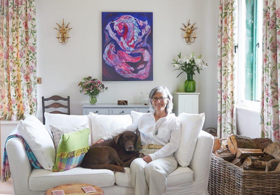 Artist Claudia Roche