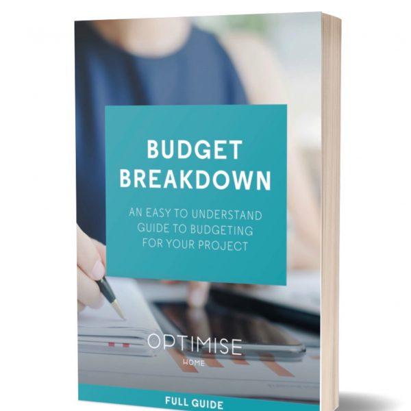 Optimise Home budget breakdown book