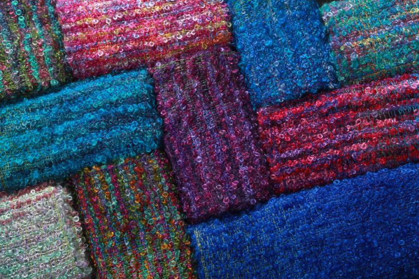 Selection of Liz Christy weaving.