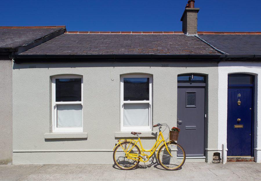 Dublin City Cool Blue Cottage