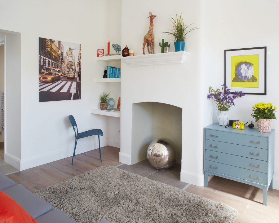 Renovation in the sitting room