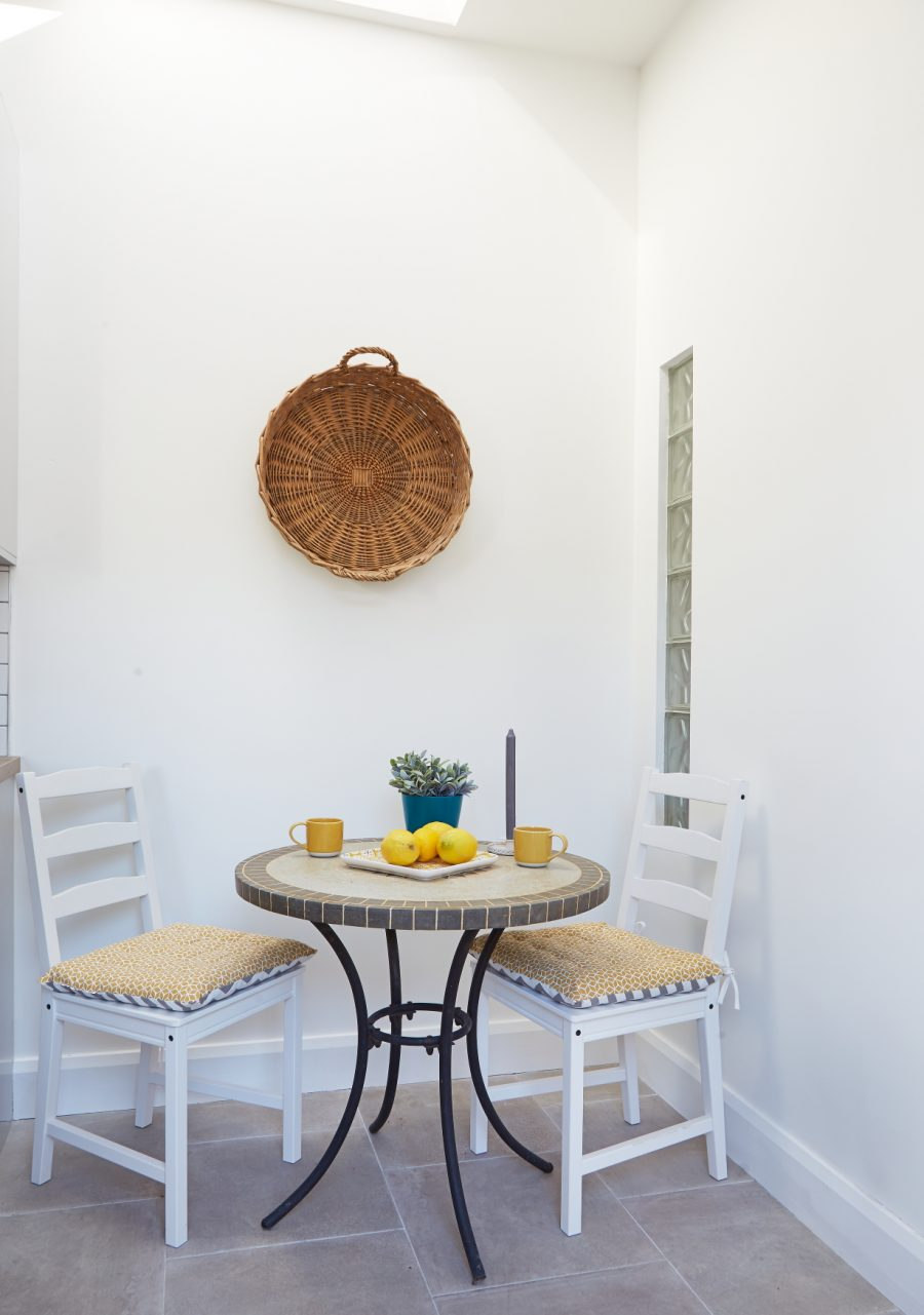 Julie's dining table