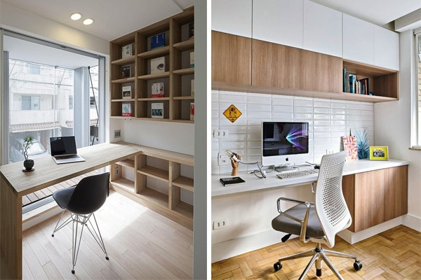 Home Office Calm and Neutral scheme