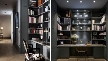 Home Office Dark and Moody