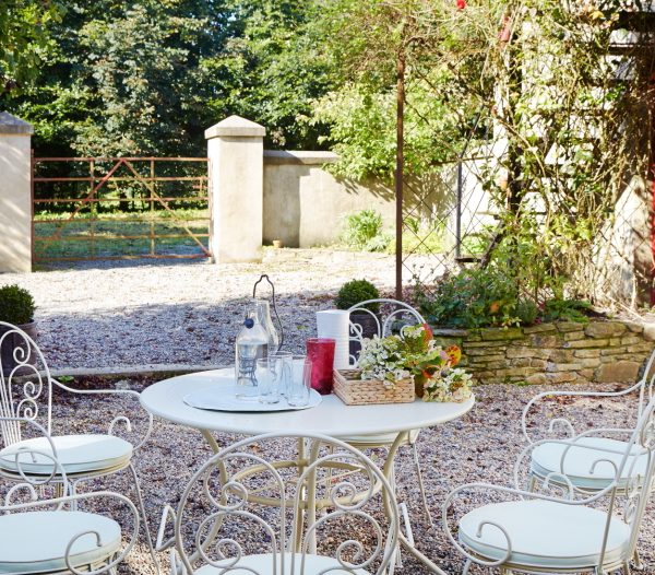 Outside seating area in the house in Castlecomer
