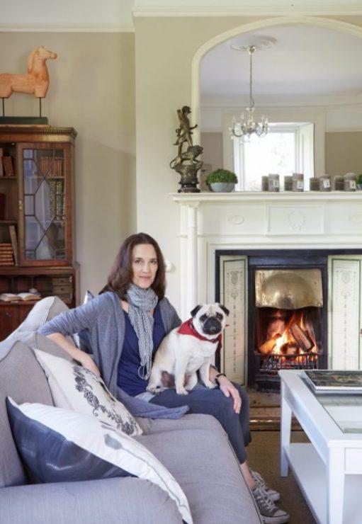 Jane and her dog Oscar