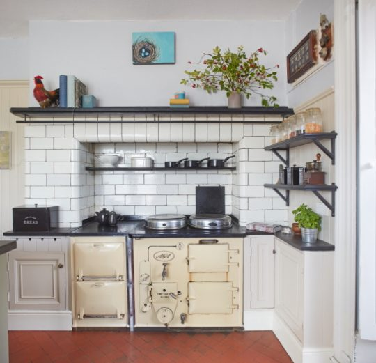 the cooker in Jane's kitchen
