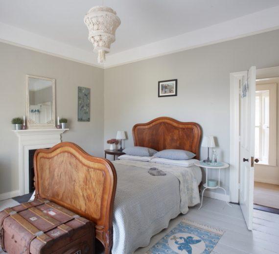 bed in guestroom