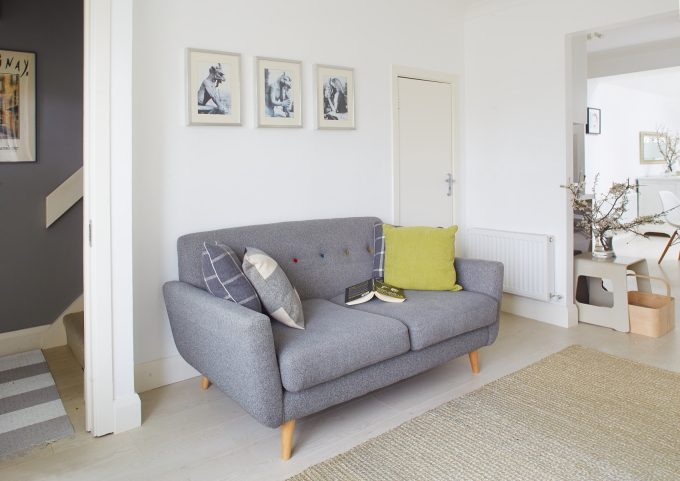 sitting room grey couch