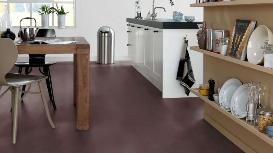 Flooring made from linseeds