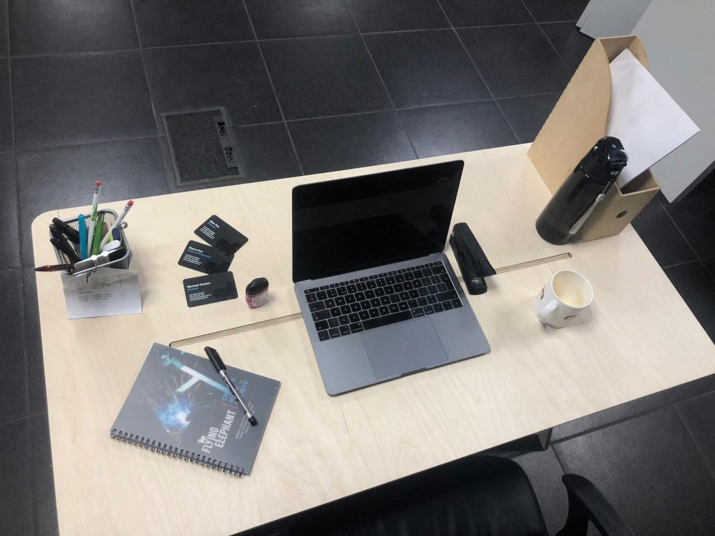 Work from home instant desk
