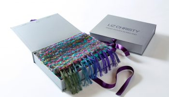 Liz Chirsty WEver scarf Boucle